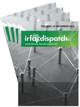 IRFA Dispatch - Tuesday, 10 December 2019