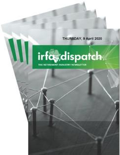 IRFA DISPATCH - Thursday 9 April 2020