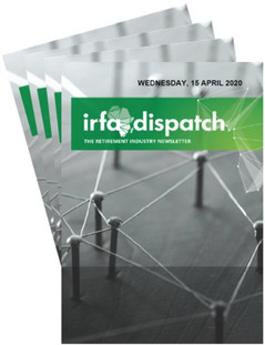 IRFA DISPATCH - Wednesday 15 April 2020