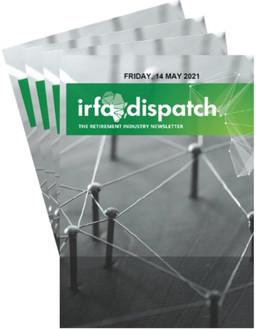 IRFA Dispatch  - Friday 14 May 2021