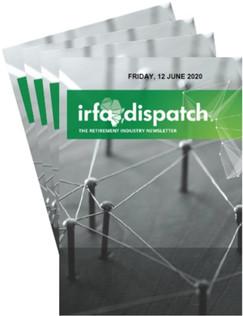 IRFA DISPATCH -Friday 12 June 2020