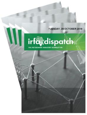 IRFA Dispatch - Tuesday, 29 October 2019