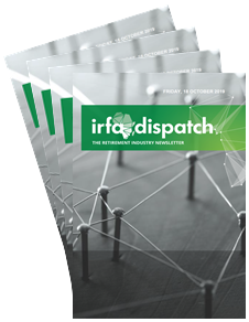 IRFA Dispatch - Friday, 18 October 2019