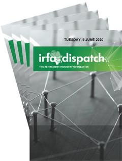 IRFA DISPATCH - Tuesday 9 June 2020