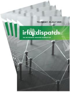 IRFA DISPATCH - Thursday 30 July 2020