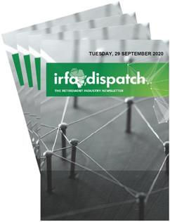 IRFA - DISPATCH Tuesday 29 September 2020