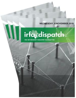 IRFA Dispatch - Wednesday, 6 November 2019