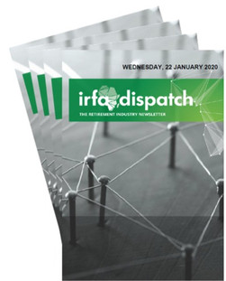 IRFA DISPATCH - Wednesday 22 January 2020