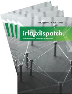 IRFA DISPATCH - Thursday 9 July 2020