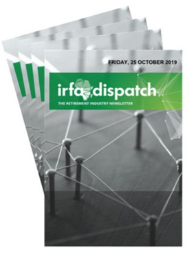 IRFA Dispatch Friday, 25 October 2019