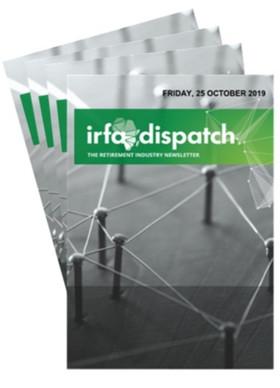 IRFA Dispatch Friday, 25 October 2019