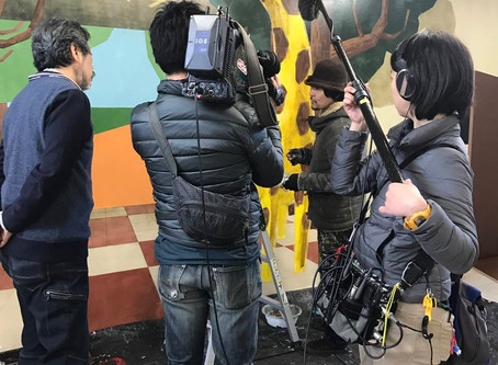 原田章生CBCテレビ・新聞取材