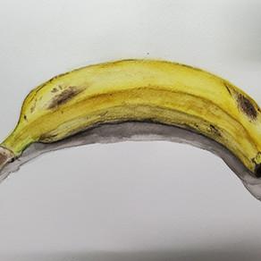 こどもクラス.バナナ着彩