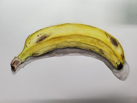 小学生クラス.バナナ着彩