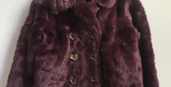 Sweet Pea - Deep Purple Fur Cato