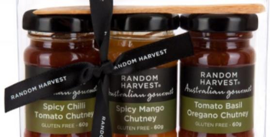 Random Harvest -  Mini Me Chutney Trio