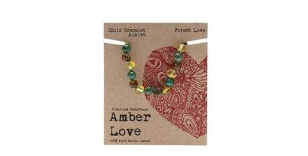 Amber Love - Children's Teething Bracelet
