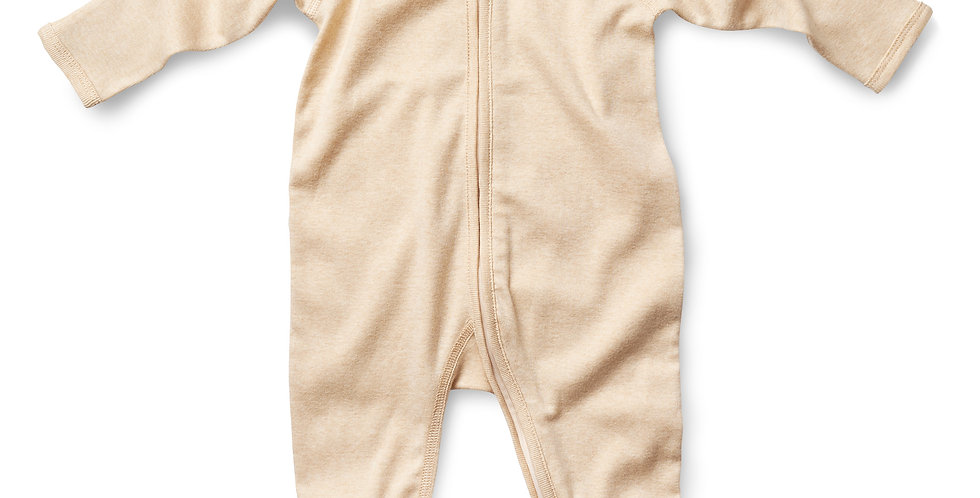 Fibre For Good - Long Sleeve Zip Romper