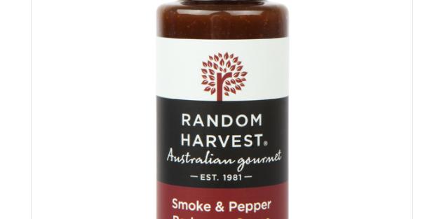 Random Harvest - Smoke & Pepper Barbeque Sauce 100ml