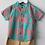 Thumbnail: Sweet Pea - Checkered Shirt Brown Shorts Set