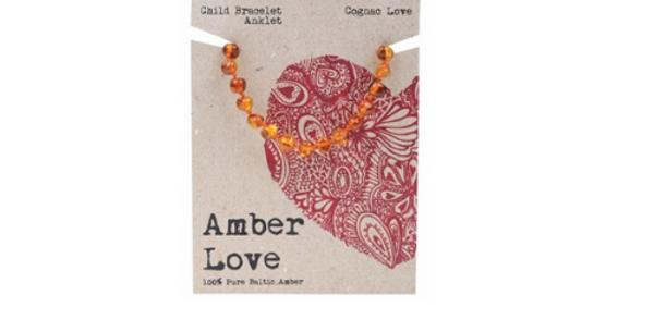 Amber Love - Children's Teething Bracelet Baltic Amber