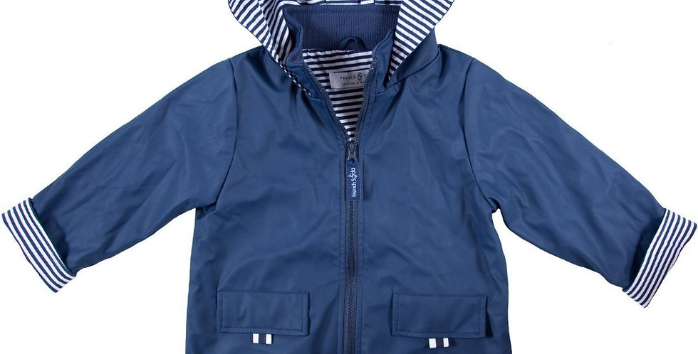 French Soda - Raincoat  Navy Blue
