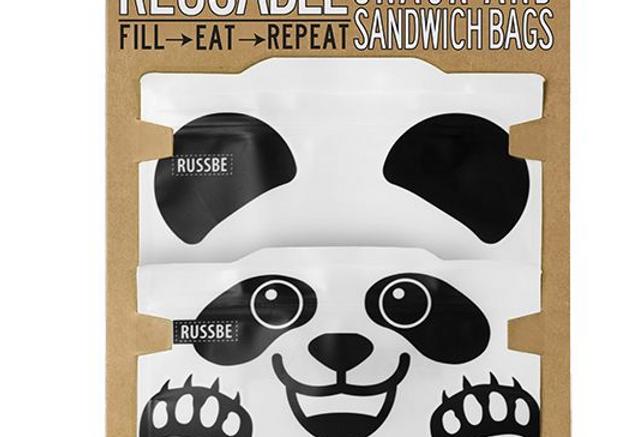Russbe -  Snack & Sandwich Bags