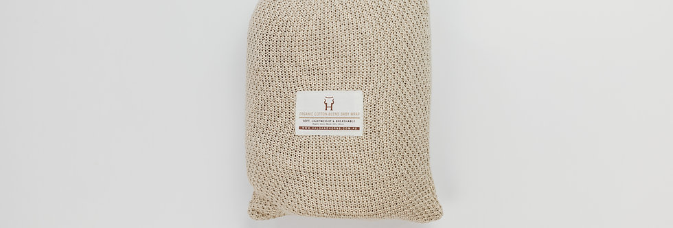 Halo & Horns - Baby Heritage Blanket | Oat