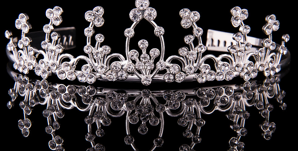 Mad Ally - Large Diamante Tiara