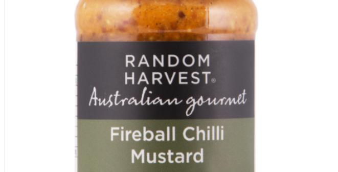 Random Harvest - Fireball Chilli Mustard 60g