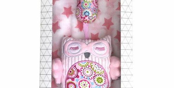 Es Kids - Gift Box Chime Muslin Pink