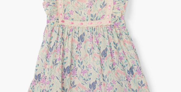 Hatley -Floral Baby Party Dress