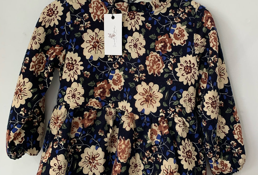 Lined Floral Dress