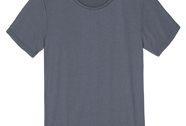 Bamboo Body - Men's Bamboo Tee -Grey