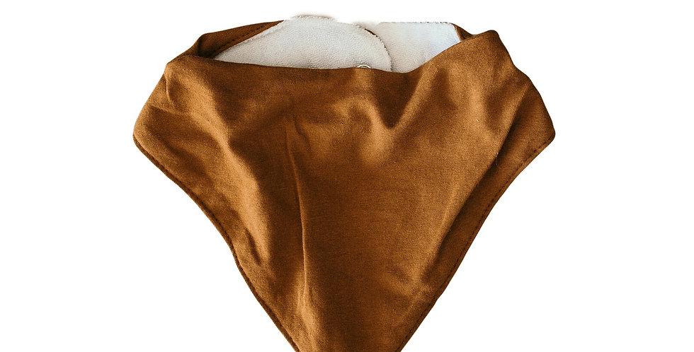 Snuggle Hunny - Dribble Bib Bronze