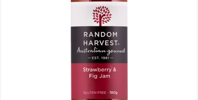 Random Harvest - Strawberry & Fig Jam 180g