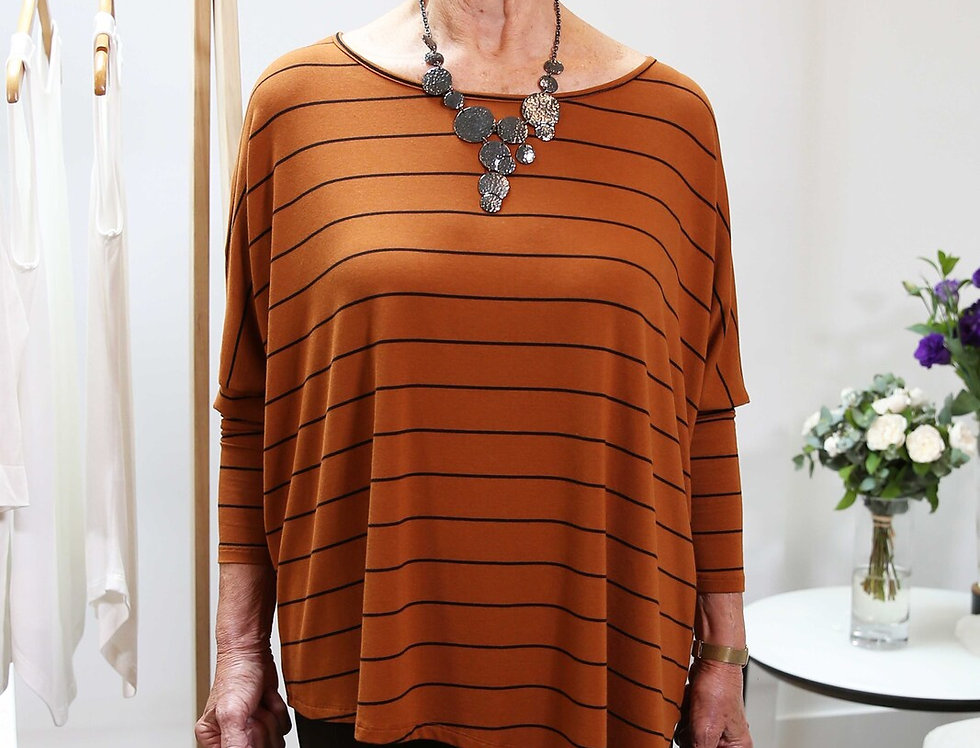 Bamboo Body - Relax Boatneck - Ginger