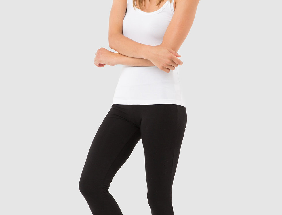 Bamboo Body - Soft Bamboo Leggings Black
