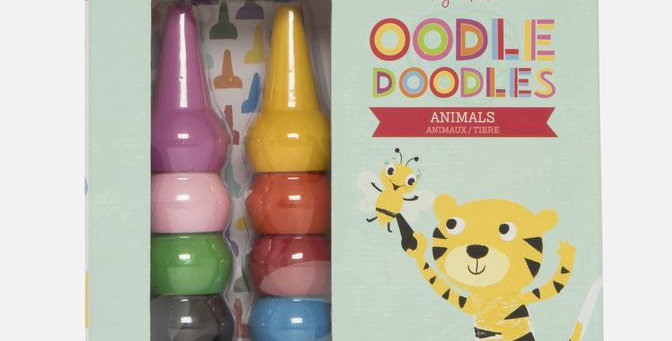 Tiger Tribe - Oodle Doodles - Animals