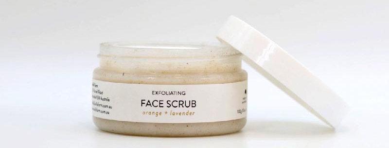 Avilla Farm -100g Face Scrub