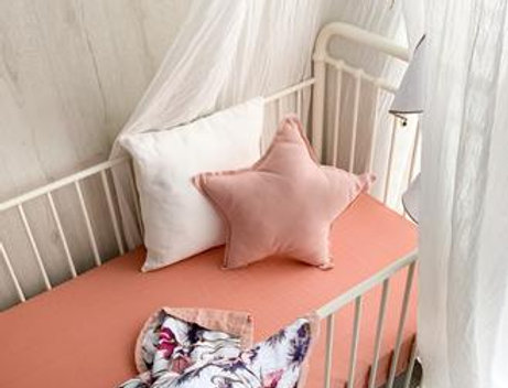 Pop Ya Tot - All About Aster Reversible Cot Quilt