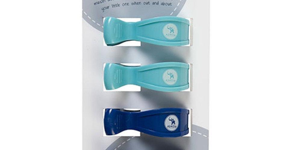 All4Ella - 4 Pack Pegs Blue/Navy