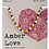 Thumbnail: Amber Love - Children's Teething Necklace  Baltic Amber