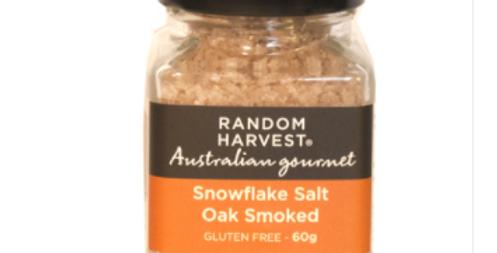 Random Harvest - Oak Smoked Snow Flake Salt 60g