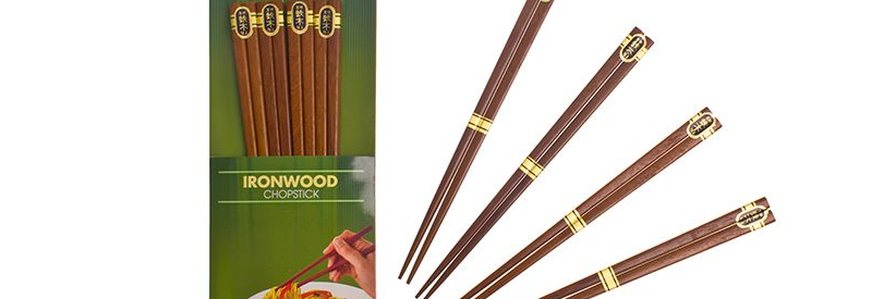 D.Line - Iron Wood Chopsticks Set
