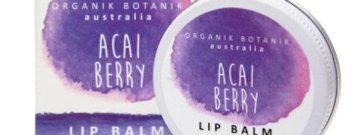 Organik Botanik - Acai Berry Lip Balm