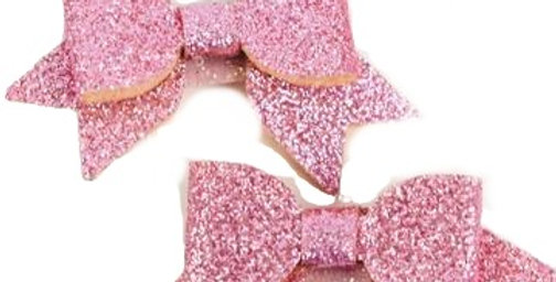 Sweet As Sugar Jewellery - Pink Bow Hair Clips