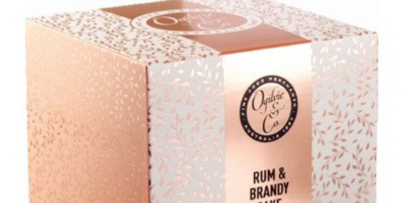 OGILVIE & CO - Rum & Brandy Cake 400G
