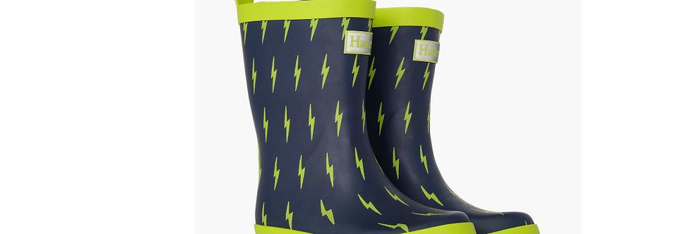 Hatley - Lightning Bolts Matte Rain Boot