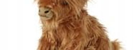 Keycraft - Large Highland Cow with Sound - 30cm